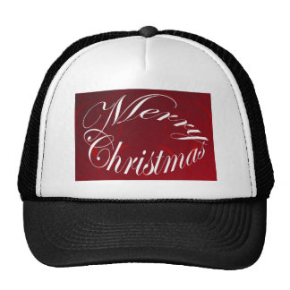 Holiday Merry Christmas Matching Red Items Cap