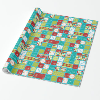 Holiday Message Christmas Wrapping Paper