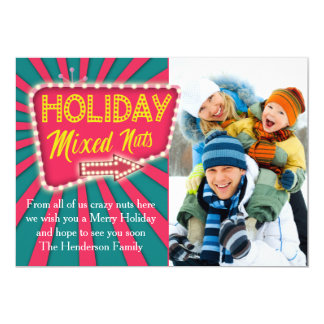 Holiday Mixed Nuts Card