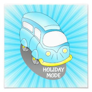 Holiday Mode Van Photo Print