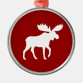 Holiday Moose Christmas Ornament