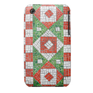 Holiday Mosaic iphone 3G/3GS Barely There Case iPhone 3 Case-Mate Case