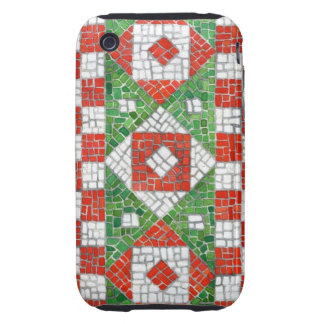 Holiday Mosaic iphone 3G/3GS Tough Case Tough iPhone 3 Cover