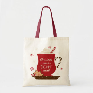 Holiday Mug Custom Tote Bag