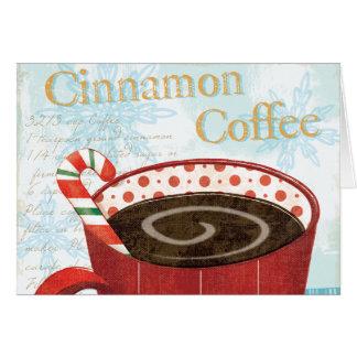Holiday Mug with Cinnamon Coffee Card