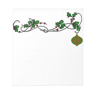 Holiday Note Pad