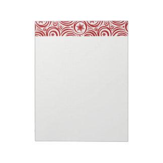 Holiday Notepad-Snowflakes Notepad