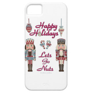 Holiday Nutcracker Lets Go Nuts iPhone 5 Cover
