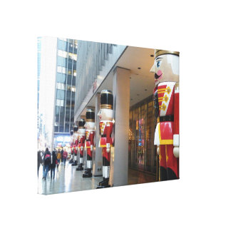 Holiday Nutcrackers NYC Canvas Print