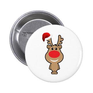 Holiday of funny Christmas santa Pin