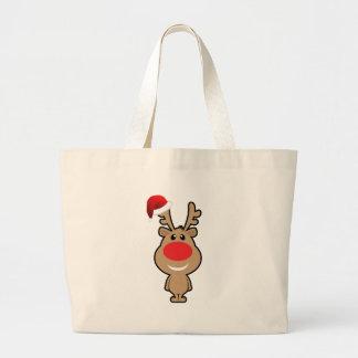 Holiday of funny Christmas santa Tote Bag
