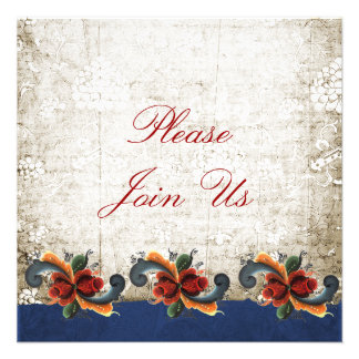Holiday Open House - Rosemaling Custom Announcements