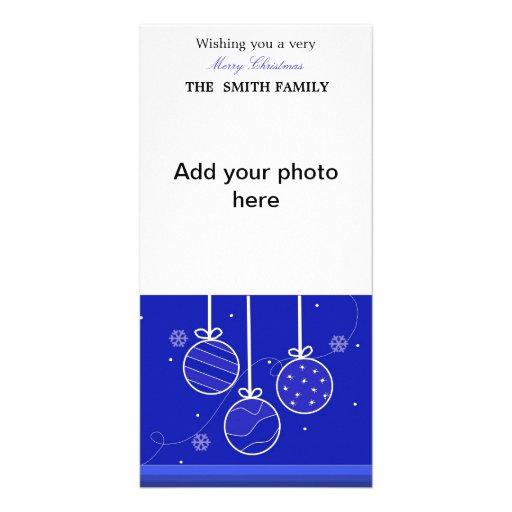 Holiday Ornaments Photo Card