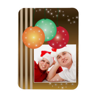 Holiday Ornaments Photo Magnet