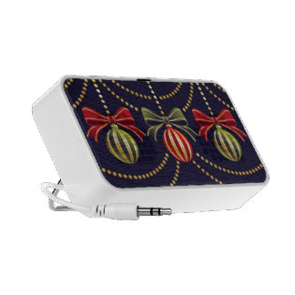 Holiday Ornaments Portable Speaker