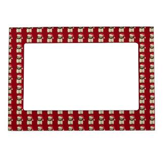 Holiday Owl Magnet Frame Magnetic Frame