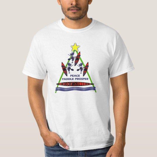 Holiday Paddle Kayak Canoe Design T-Shirt