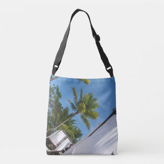 holiday palm tree bag