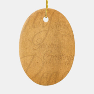 Holiday Papyrus Ornament