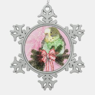 Holiday Parakeet Ornament