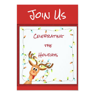 ***HOLIDAY PARTY*** INVITATIONS for CHRISTMAS