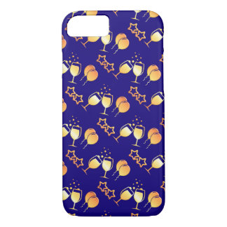 holiday party pattern iPhone 8/7 case