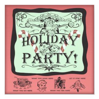 Holiday Party Santa Card