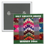Holiday Party Ugly Sweater Contest Winner Award Badge