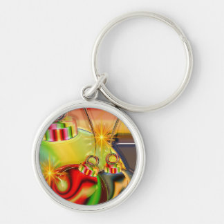 Holiday Party Winter Stocking Destiny Gifts Keychain