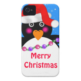Holiday Penguin Case-Mate iPhone 4 Cases