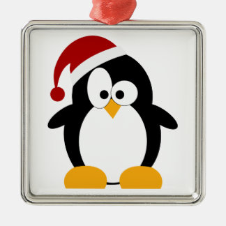 Holiday Penguin Customizable Ornaments