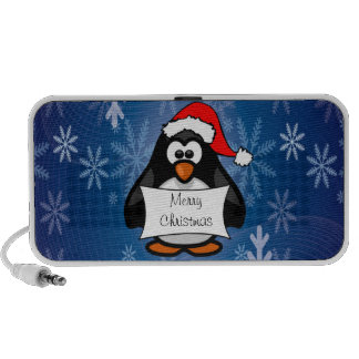 Holiday Penguin PC Speakers