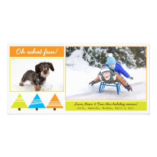 Holiday Photo Card | 2 Picture Photo Card