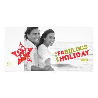 Holiday Photo Card - Fabulous Star Studded
