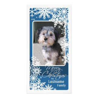 Holiday Photo Card: Let It Snow! Photo Greeting Card