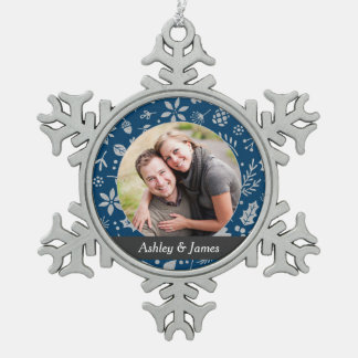 Holiday Photo Ornament | Personalized Design