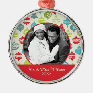 Holiday Photo | Vintage Christmas Ornament Pattern