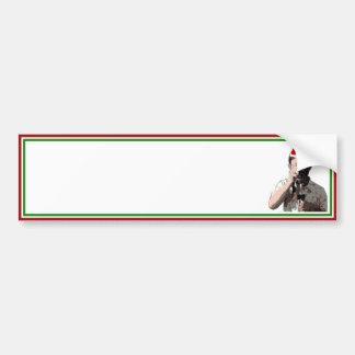Holiday Photographer Bumper Sticker