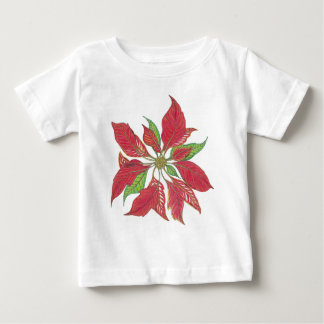 Holiday Poinsettia | Customisable T Shirt