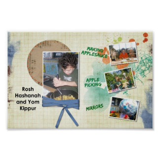 Holiday poster Rosh Hashanah - Customized