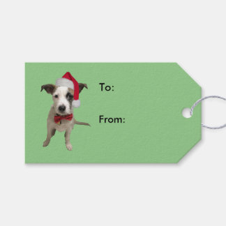 Holiday Puppy Gift Tags