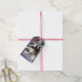 Holiday Puppy Happiness Gift Tags