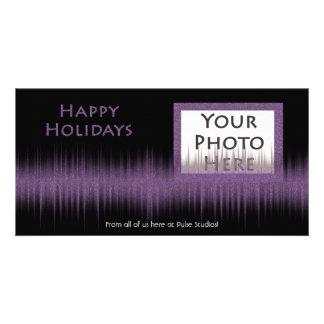Holiday Purple Beat Photocard Photo Cards