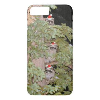 Holiday Raccoons iPhone 7 Plus Case