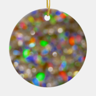 Holiday Rainbow ornament round