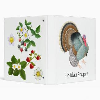 Holiday Recipes Avery Binder