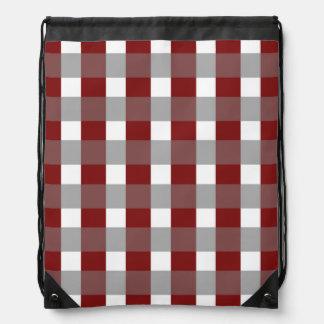 Holiday Red Drawstring Bag