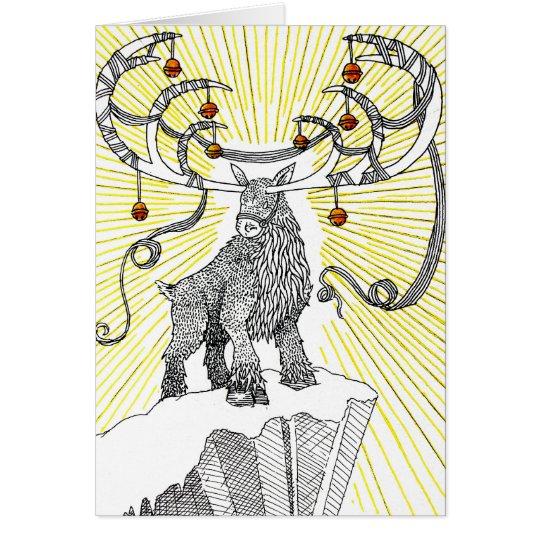 Holiday Reindeer Card