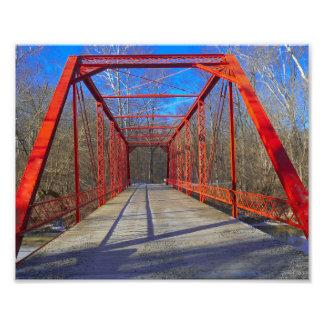 Holiday Road Bridge Photograph