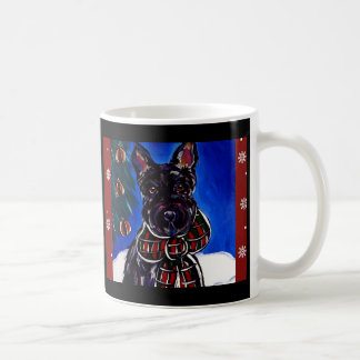 Holiday Scottish Terrier Mugs